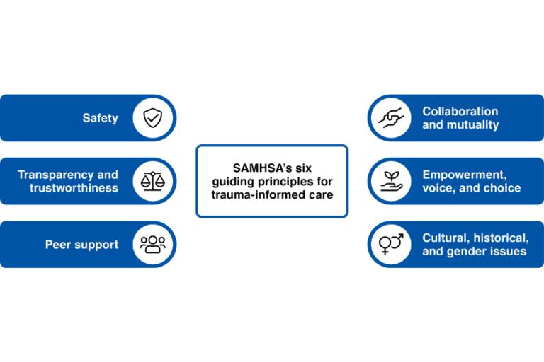 6 Principles of Trauma Informed Care