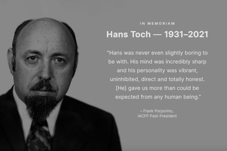 A photo of Hans Toch